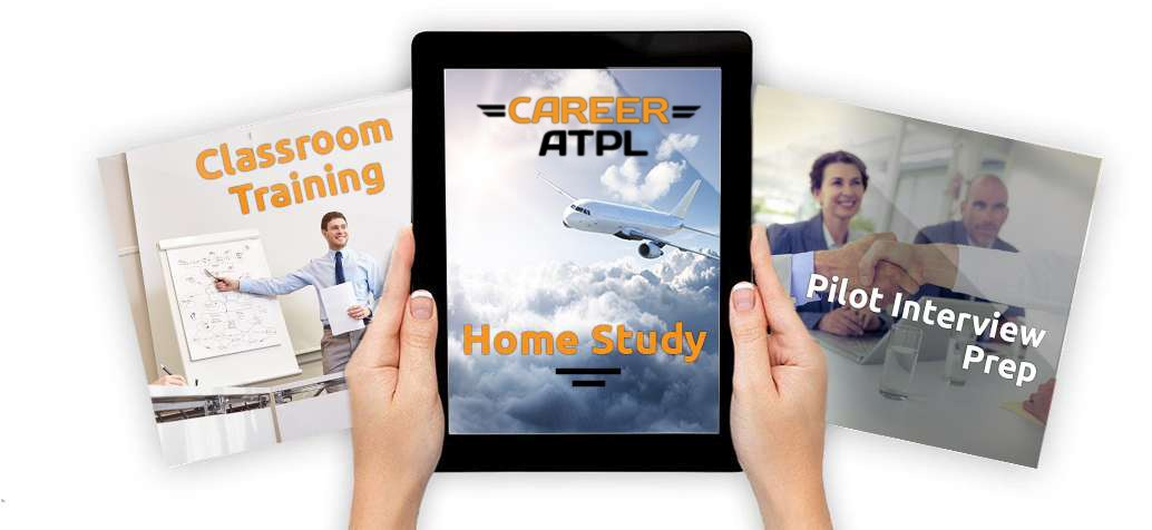 CareerATPL, 3 main part of the EASA ATPL courses are: classroom training, homes study and pilot interview